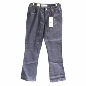 Levi's Mid Rise Bootcut Skinny Waxed Jeans NWT